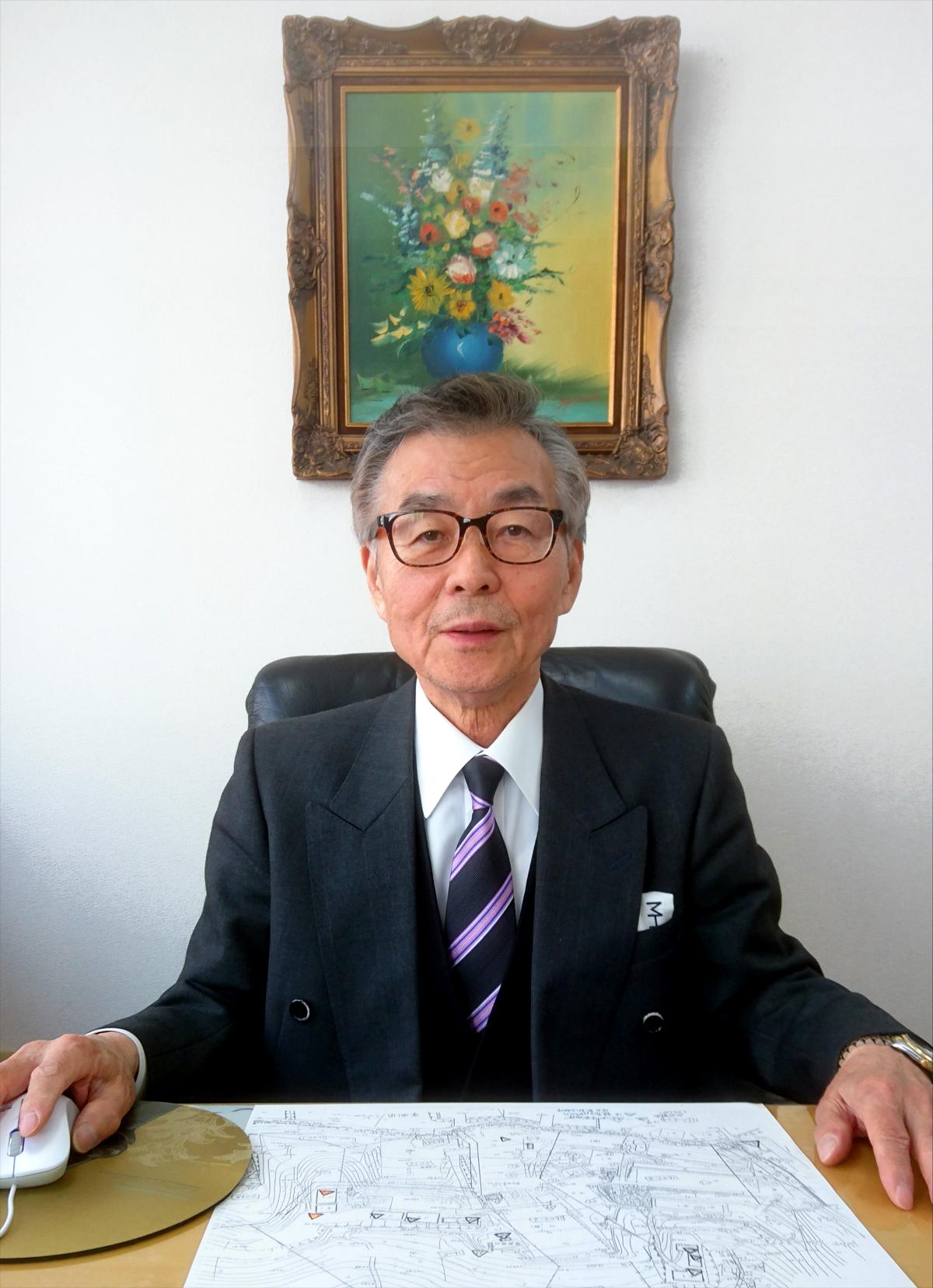 株式会社ヤクモケアポート 取締役会長 村上 栄吉